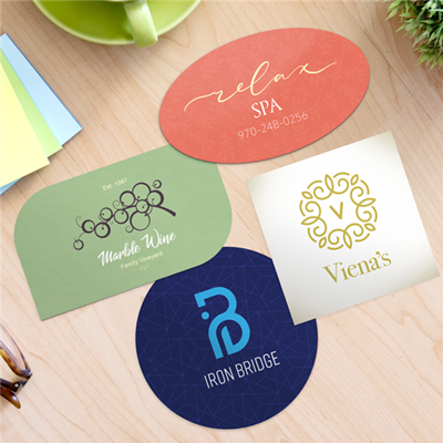 BUSINESS CARDS - Special Shapes