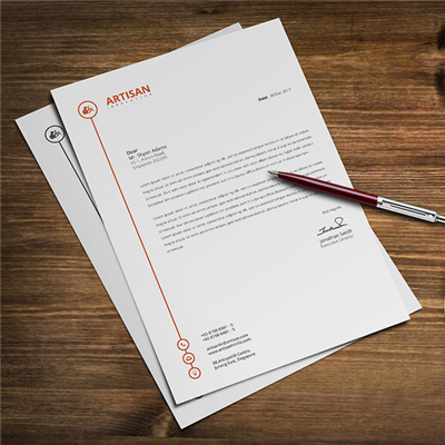 Premium Short Run Letterheads