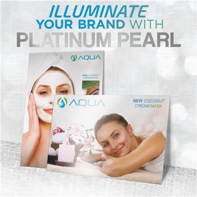 BUSINESS CARDS - Platinum Pearl