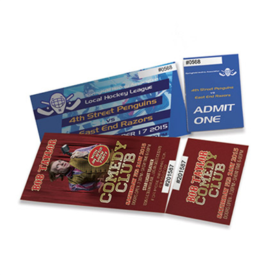 TICKETS - Standard & Bulk Run