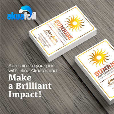 BUSINESS CARDS - Akuafoil