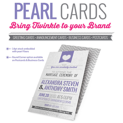 BUSINESS CARDS - Pearl