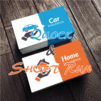 BUSINESS CARDS - Quick & Short Run